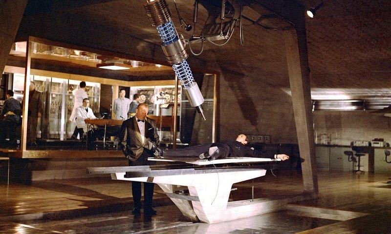 """© MGM  Szene aus """"Goldfinger"""""""